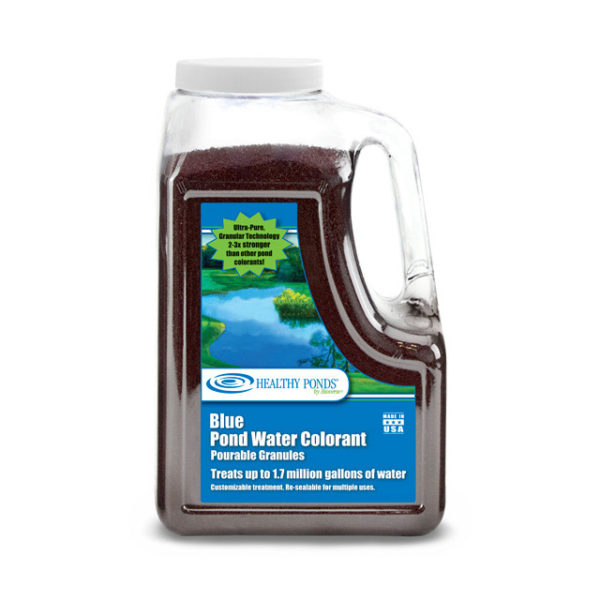 Healthy Ponds® Blue Pond Water Colorant Quart Pourable Granules - Treats up to 1.7 million gallons