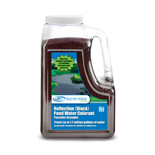 Healthy Ponds® Black Pond Water Colorant Quart Pourable Granules - Treats up to 1.7 million gallons