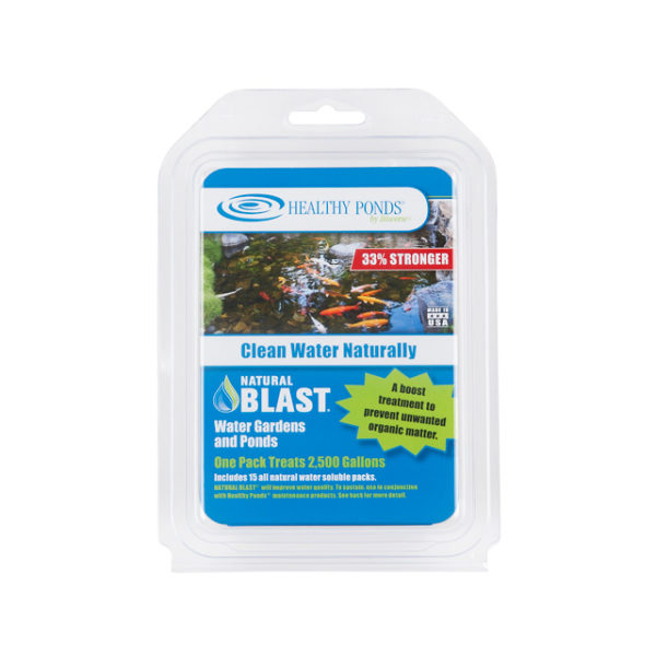 Natural Blast® 15 Pack - one pack treats 2,500 gallons