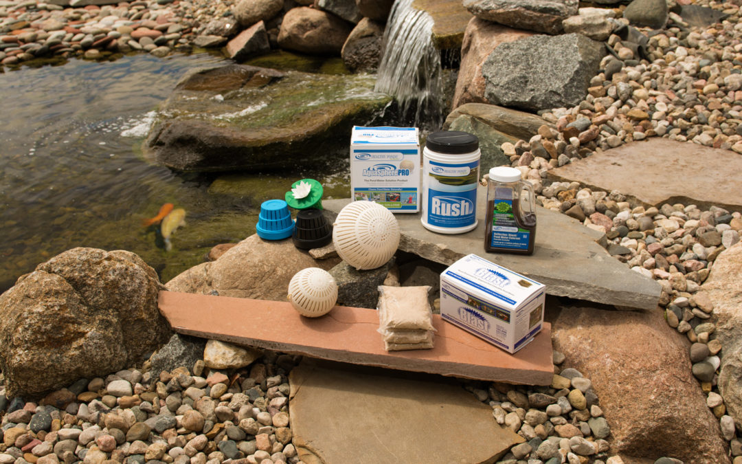 How to Prevent Excess Nutrients and Algae in Your Pond