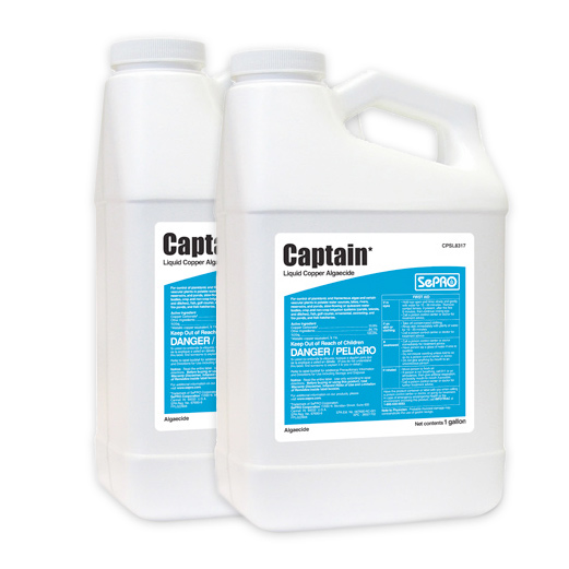 Two bottles of Captain