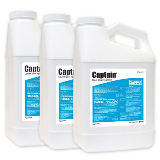 Three bottles of Captain