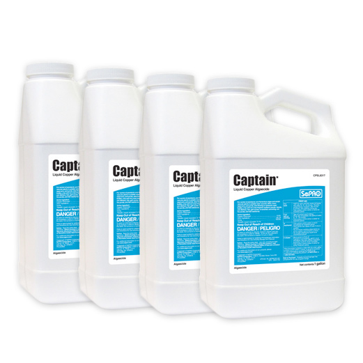 Four bottles of Captain