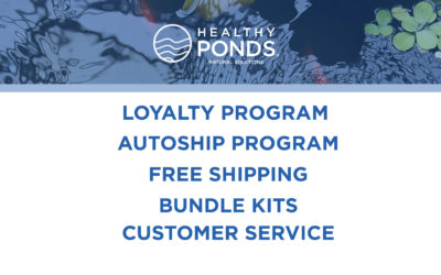 Order Pond Treatments Direct from Healthy Ponds and Save