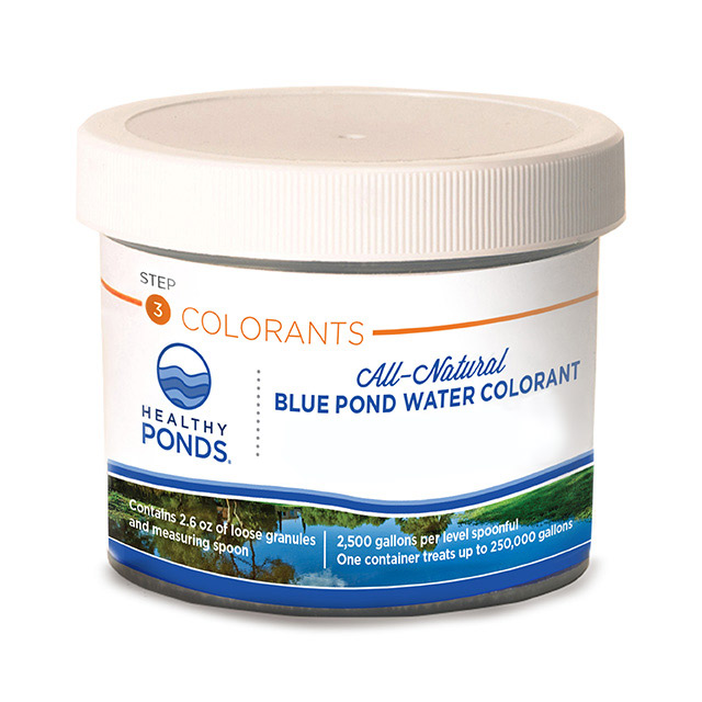Healthy Ponds® Blue Pond Water Colorant - 2.6 oz Jar