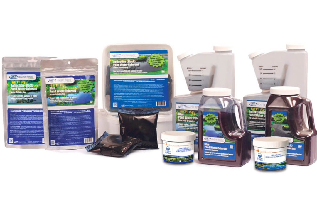 Why Pond Colorants Are an Important Third Step in Pond Cleaning