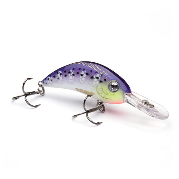 Purpledescent Fishing Lure